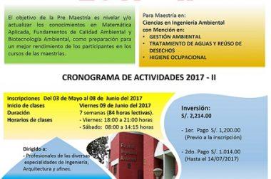 PRE MAESTRÍA 2017-II