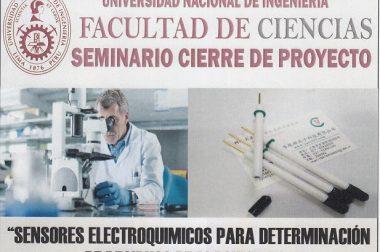 """SEMINARIO-""""SENSORES ELECTROQUÍMICOS PARA DETERMINACIÓN DE RESIDUOS DE PLAGUICIDAS"""""""